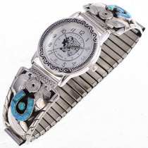 Opal Horseshoe Watch 24445