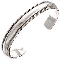 Heavy Gauge Sterling Bracelet  25247