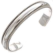 Heavy Gauge Sterling Bracelet  25247