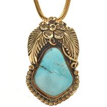 Sleeping Beauty Turquoise Pendant 29431