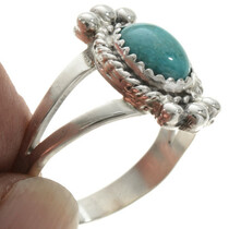 Natural Kingman Turquoise Ring 27684