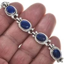 Gemstone Lapis Link Southwest Bracelet 29094