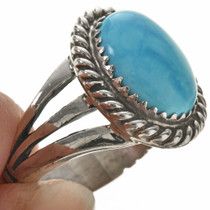 Ladies Navajo Turquoise Ring 28965