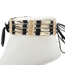 Four Strand Indian Bone Choker 25393