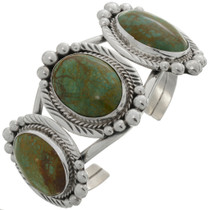 Turquoise Silver Ladies Cuff Bracelet 16227