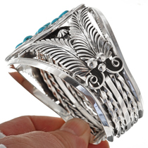 Sleeping Beauty Turquoise Cluster Cuff 27652