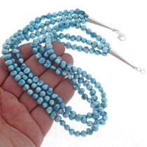 Three Strand Pearl Necklace 22747