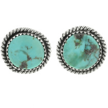 Birdseye Kingman Turquoise Post Earrings 28523