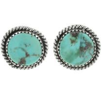 Birdseye Kingman Turquoise Post Earrings 28523