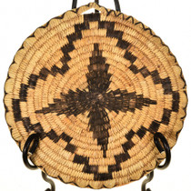 Traditional Four Point Pattern Basket