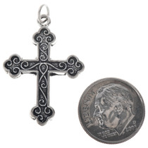 DIY Sterling Cross Jewelry Charms 35434