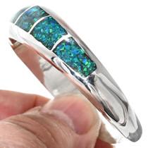 Sterling Opal Ladies Bracelet 29641
