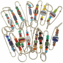 Assorted Southwest Style Key Rings 27645