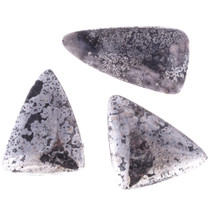 Silver Ore Cabachons