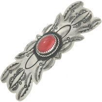 Red Mountain Jade Hair Barrette