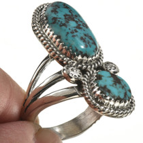 Navajo Turquoise Pointer Ring 28567