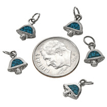 Turquoise Chip Inlay Charm 17439