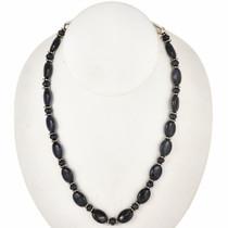 Navajo Blue Gemstone Beaded Necklace 29451
