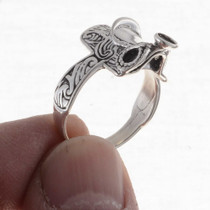 Western Sterling Ladies Ring 15786