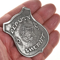 Western Silver Replica Badge 29001