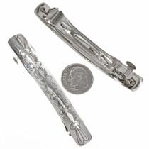 Navajo  Silver Barrette Set 22791