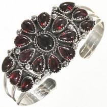 Garnet Onyx Cluster Bracelet 28856