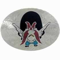 Yosemite Sam Inlaid Belt Buckle 23475