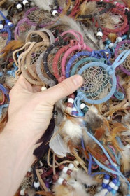 Wholesale 2 Inch Dreamcatchers 33651