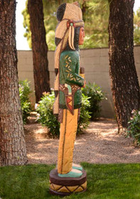 Wooden Cigar Store Indian 26719