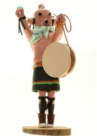 Vintage Mudhead Kachina Doll 27663