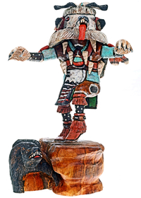 White Bear Kachina 24554