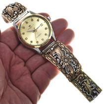 Gold Silver Navajo Mens Watch 29647