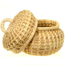 Tohono O'odham Basket With Lid 27593