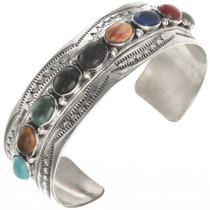 Turquoise Lapis Coral Malachite Bracelet 28246