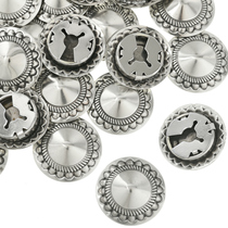 Southwest Silver Buttons Cover 31843
