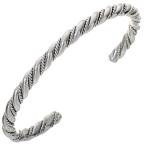 Native American Heavy Gauge Sterling Cuff 28395