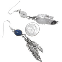 Native American Lapis Dangle Earrings 29401