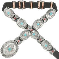 Navajo Concho Black Belt 13841