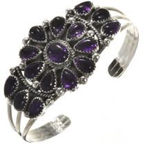 Navajo Amethyst Cluster Bracelet 28855