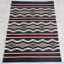 Navajo Chinle Stars Wool Rug 27755