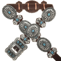 Southwest Concho Belts For Sale