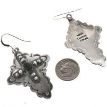 Santa Fe Cross Navajo Earrings 28854
