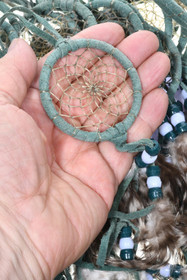 Green Buckskin Dreamcatcher 25266