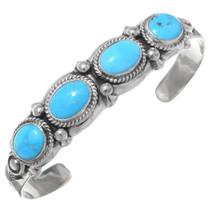Turquoise Silver Unisex Bracelet 29221