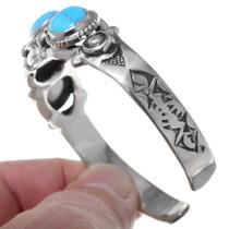Genuine Turquoise Mens Ladies Bracelet 29221