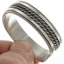 Navajo Indian Silver Bracelet 27774