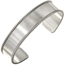 Brushed Silver Cuff