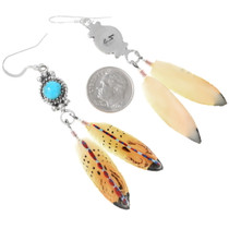 Native American Feather Earrings 29738