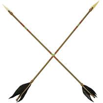 Navajo Painted Arrow