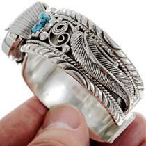 Turquoise Silver Bracelet Watch 24425